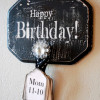 Gift Idea: Happy Birthday Sign!