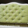 DIY Upholstered Tufted Headboard Tutorial