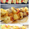 Sweet and Spicy Grilled Fruit Skewers