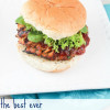 The BEST ever Turkey Burger and Homemade BBQ Sauce