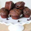 Chocolate Mini Muffins with Chia Seeds