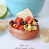 Skinny Black Bean Salad