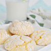 Cake Mix Lemon Cookies