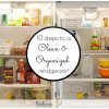 10 steps to a clean and organized fridge