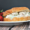 Easy and Delicious Chicken Salad Croissant