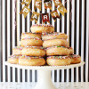 Birthday Ideas - DIY Donut Tower
