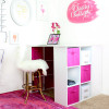 Mallory's Girly Office Makeover