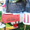 DIY Drink Cooler - Perfect for a Tailgating Party!