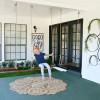 Modern Ranch Reno: DIY Outdoor Swings