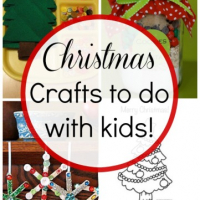 10 Christmas Crafts to do with your kids!