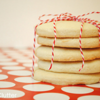 Old Fashioned Sugar Cookies and a gift idea!
