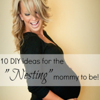 """10 DIY ideas for the """"Nesting"""" mommy to be!"""