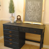 Classic Black Desk Makeover