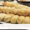 Twisted Breadstick Skewers
