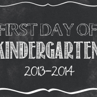 First Day of School FREE printables {Preschool-12th Grade}