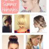 10 Adorable Hairstyles for Summer