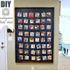 DIY Instagram Photo Wall Display