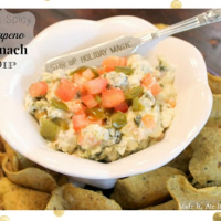 Hot & Spicy Jalapeno Spinach Dip