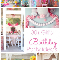 30+ Girls Birthday Parties