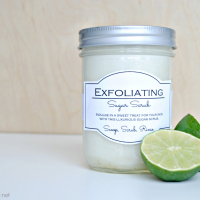 Lemon Lime Sugar Scrub Recipe