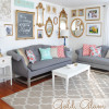 Gold Glam Gallery Wall
