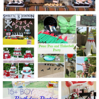15+ Boy Birthday Parties