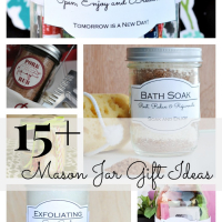 15+ Mason Jar Gift Ideas