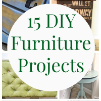 15 DIY Furniture Projects