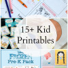 15 Kids Activity Printables