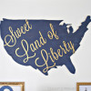 DIY Patriotic Wall Art + 4th of July Blog Hop