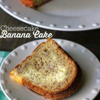 Cheesecake Banana Cake Recipe
