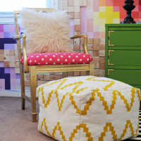 How to make and upholster a chair cushion