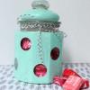 Polka Dot Candy Jar
