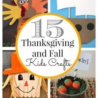15 Thanksgiving Kids Crafts
