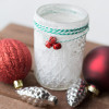 Snowy Candle Holder