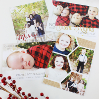 Christmas Countdown Printable and Custom Christmas Cards