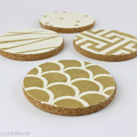 DIY Stenciled Coasters + $500 Amazon or Target Gift Card Giveaway