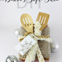 DIY Serving Utensils and Baker's Gift Idea