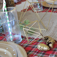 Diy Napkin Rings and Himmeli Ornaments