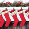 DIY Vintage Inspired Christmas Stockings