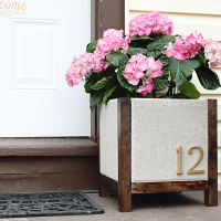 DIY Planter Box (Paver Planter) Tutorial