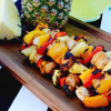 Easy Recipes: Grilled Teriyaki Chicken Skewers