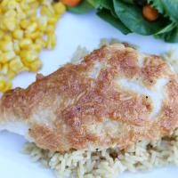Easy Chicken Recipe: The Best Parmesan Chicken