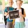 Back to School Ideas: First Day of School Printables 2015-2016