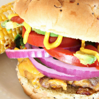 Dinner Ideas: Grilled Bacon Burger Recipe