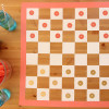 DIY Projects: Checkers Game Board Table