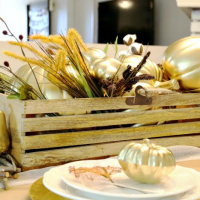 Festive Fall Entertaining: Fall Table Ideas