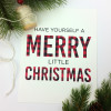 Buffalo Check Plaid Christmas Print