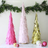 Bake Craft Sew Decorate: DIY Fringe Christmas Trees
