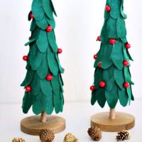 Bake Craft Sew Decorate: DIY Felt Christmas Trees